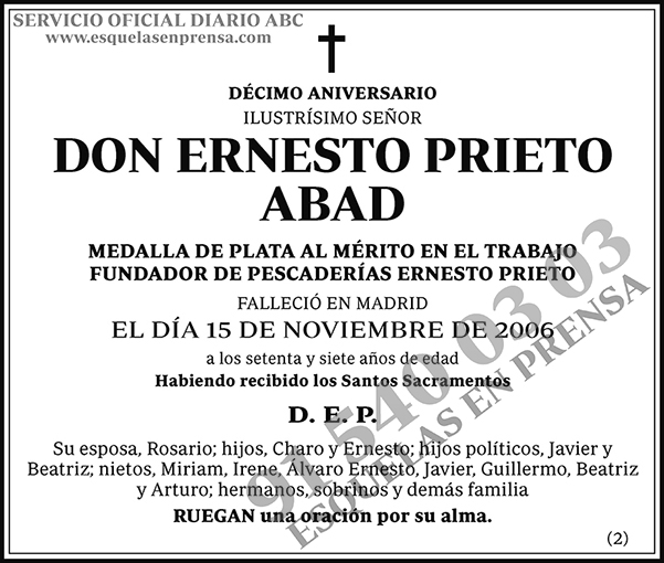 Ernesto Prieto Abad